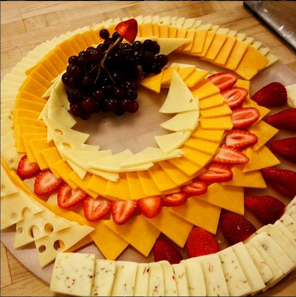 Cheese Tray - photo by Brett Lopez. Catered by Chartwells ...