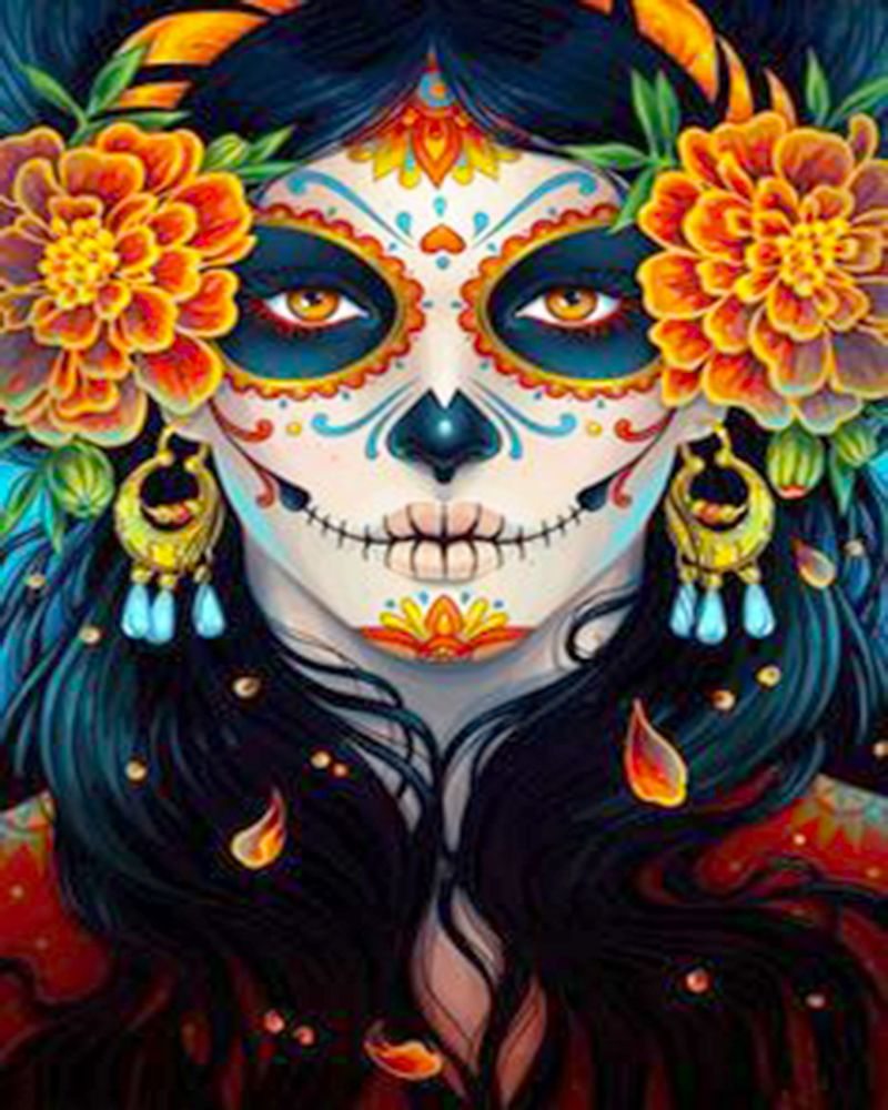 Halloween Girl Diamond Painting