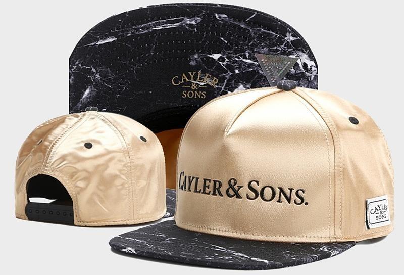 Men s Cayler   Sons C   S White Label Infinity Snapback Hat - Gold   Black 7fcdff2b299c