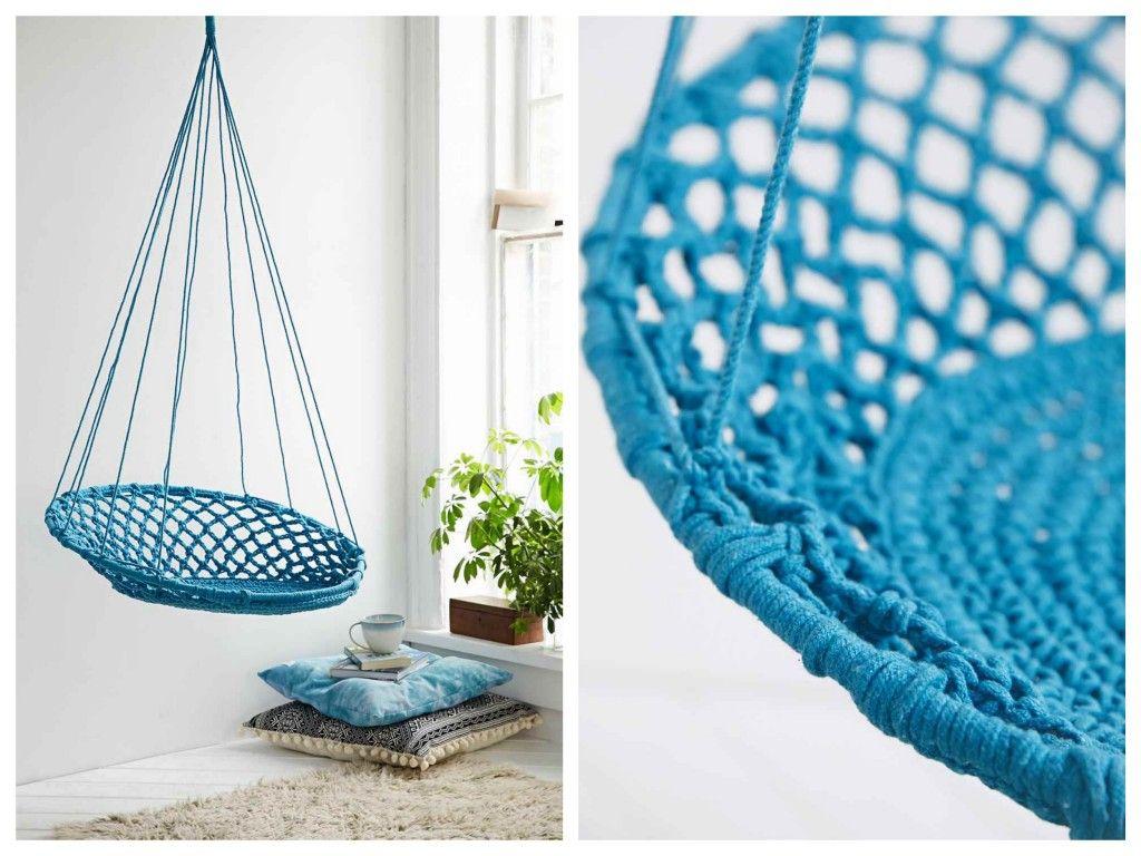 10 fauteuils suspendus blog d co design apartment ideas pinterest chaise suspendue. Black Bedroom Furniture Sets. Home Design Ideas