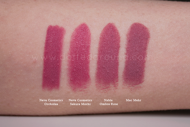 Mac Mehr Nabla Ombre Rose Lipstick Dupe Cosmetics Lipstick