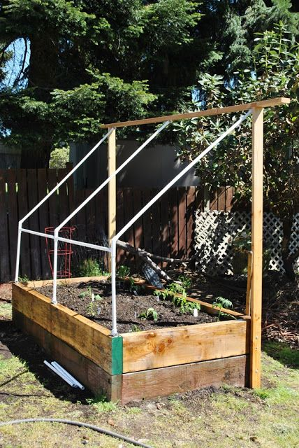 cold frame for tomato bed (http://www.homeindisarray.com/2013/05/the ...