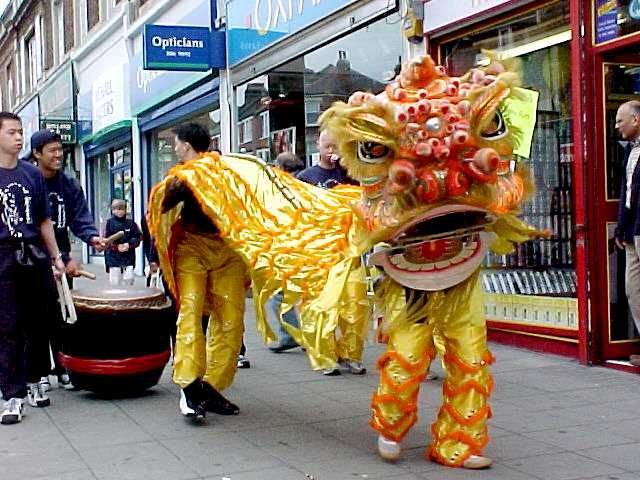 261725f21 chinese parade dragon costume - Google Search | Chinese Dragon in ...