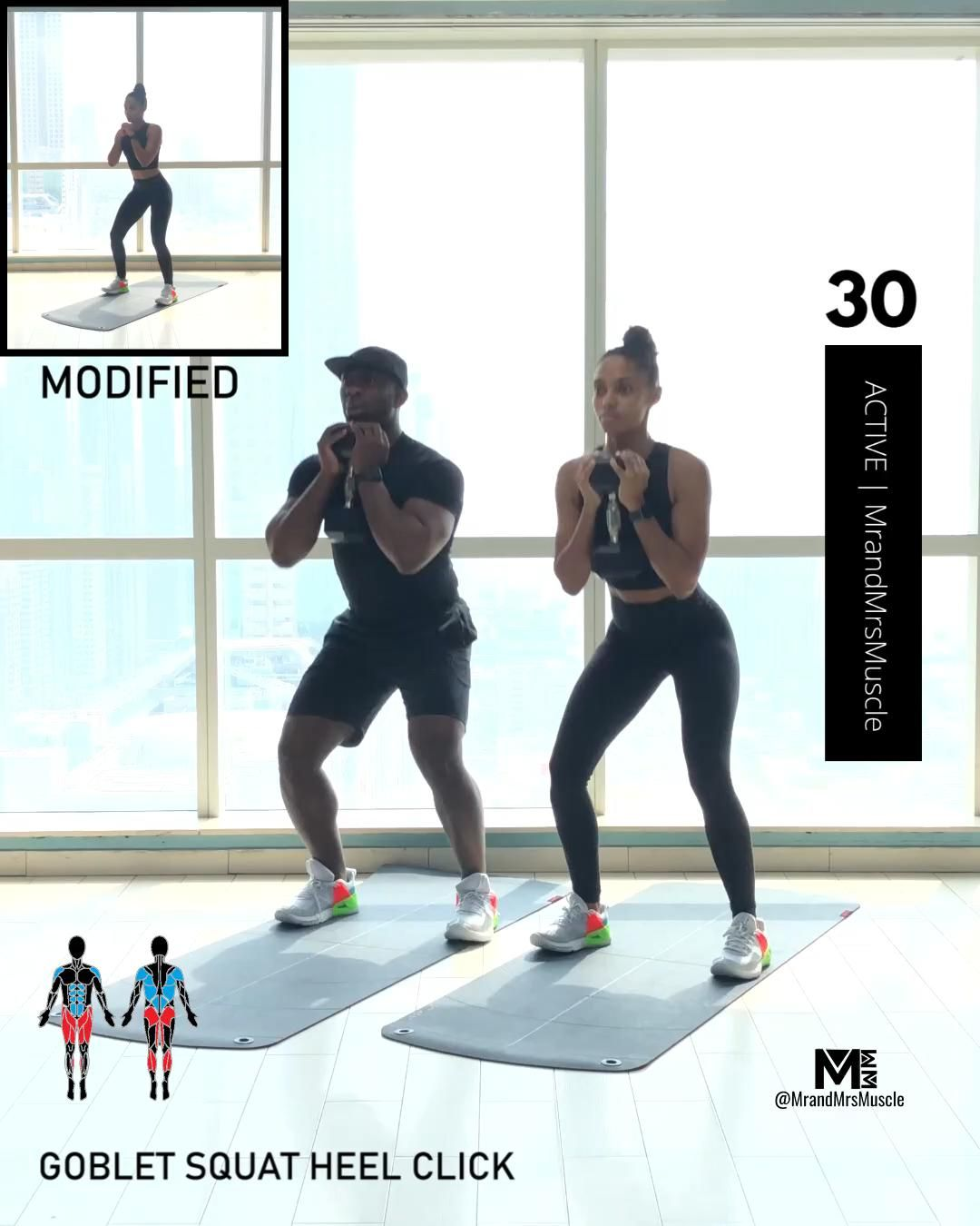 Full Body Workout - Dumbbell HIIT