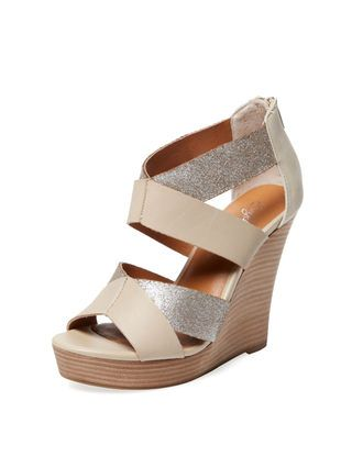 cca77217c5 Swap out your sky-high stilettos for equally chic wedges and stacked heels