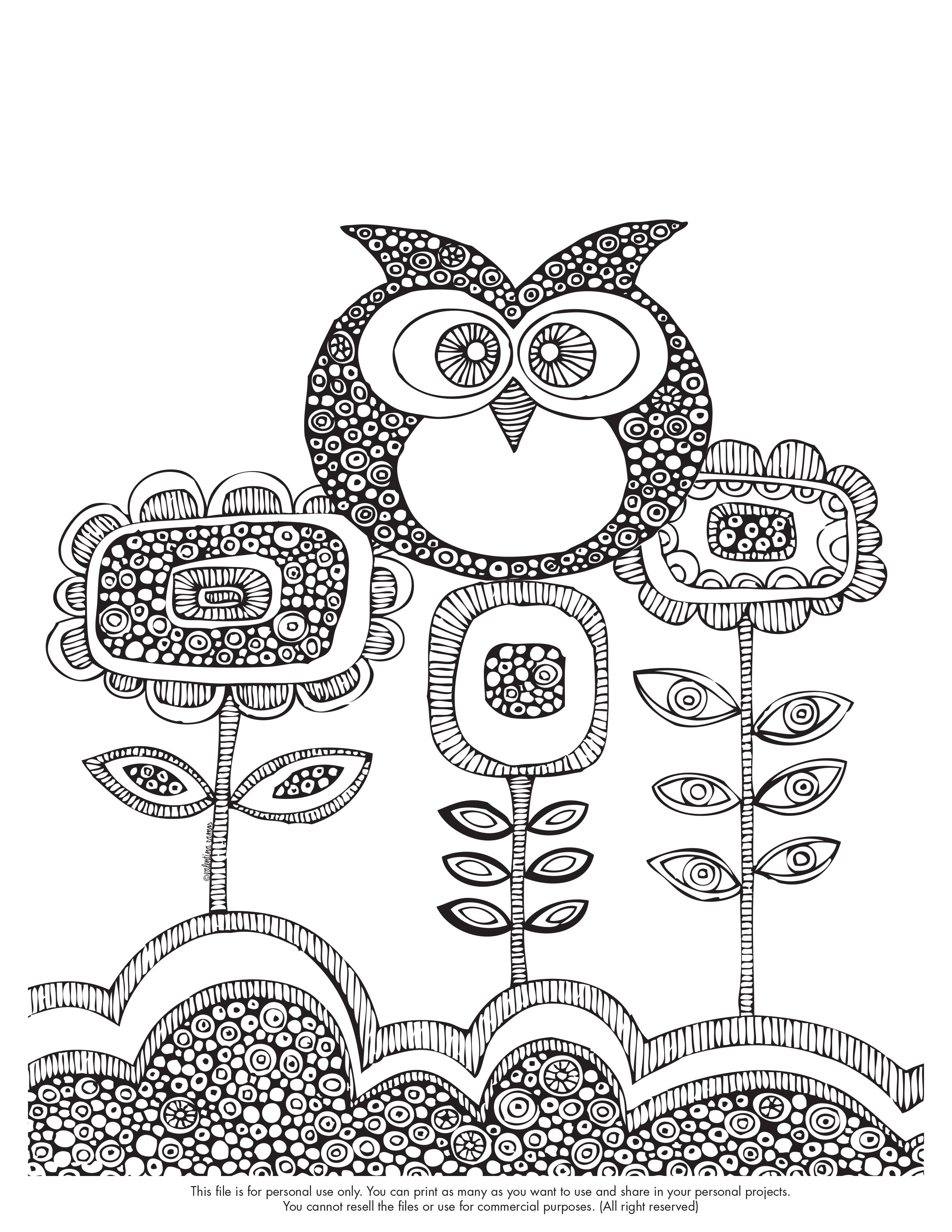 happy coloring monday free coloring page save the image in your computer to print - Printing Coloring Pictures 2