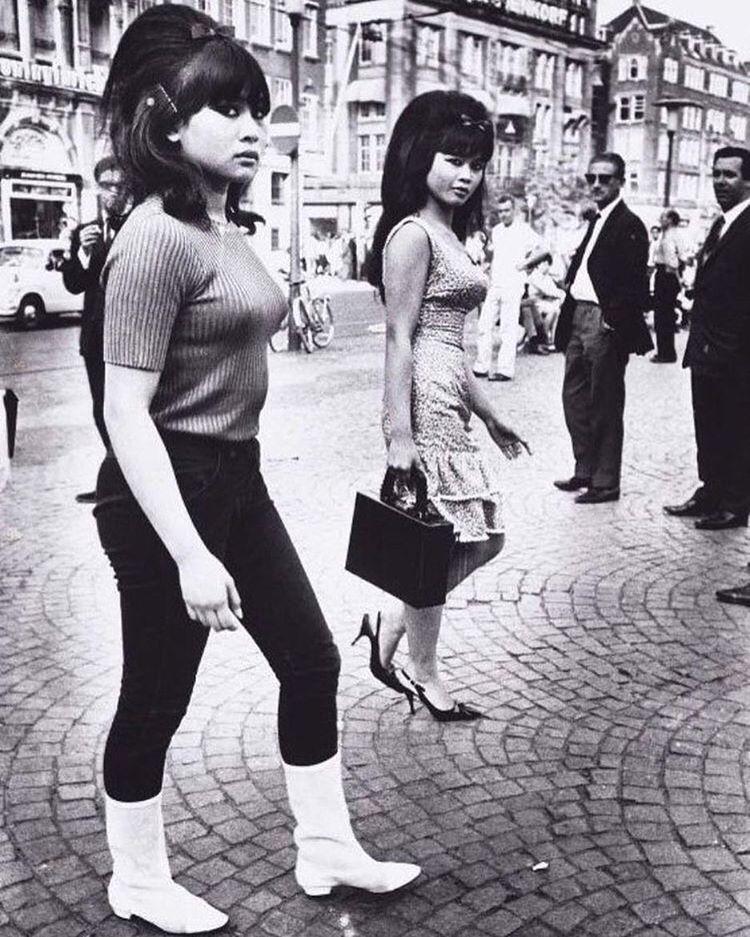 Dutch Indonesian Girls Amsterdam 1966 Indonesian Girls