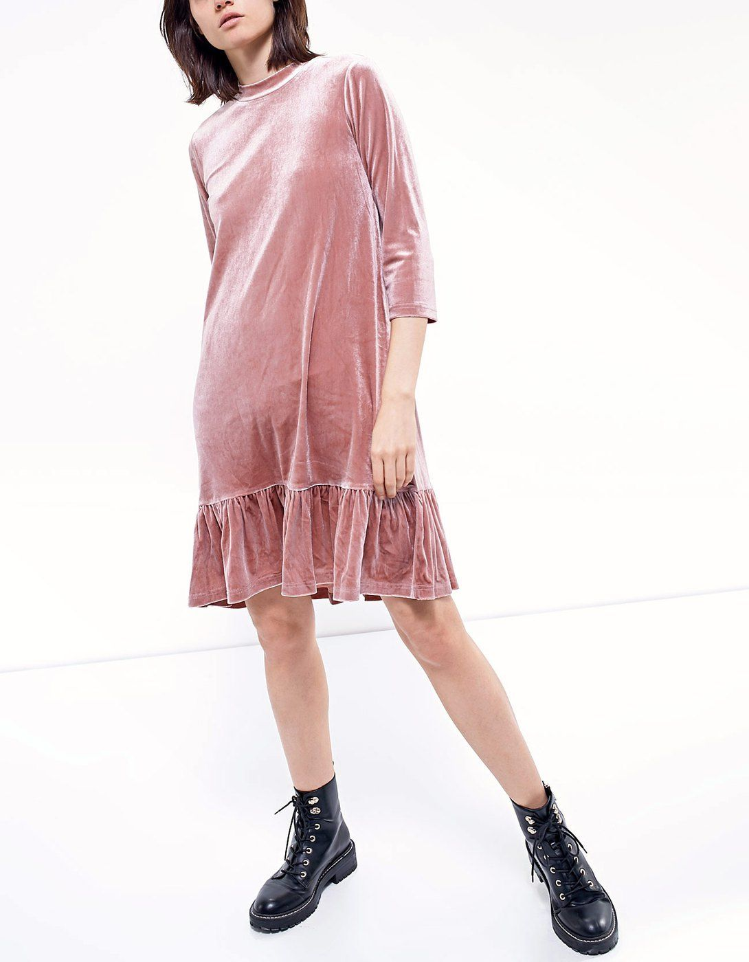 715b370c92 Velvet dress - Dresses