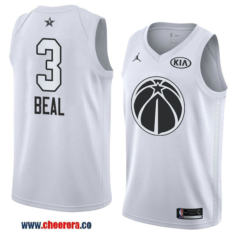 3b80ee641ff ... norway mens western conference washington wizards 3 bradley beal white 2018  nba all star jersey 26bf6