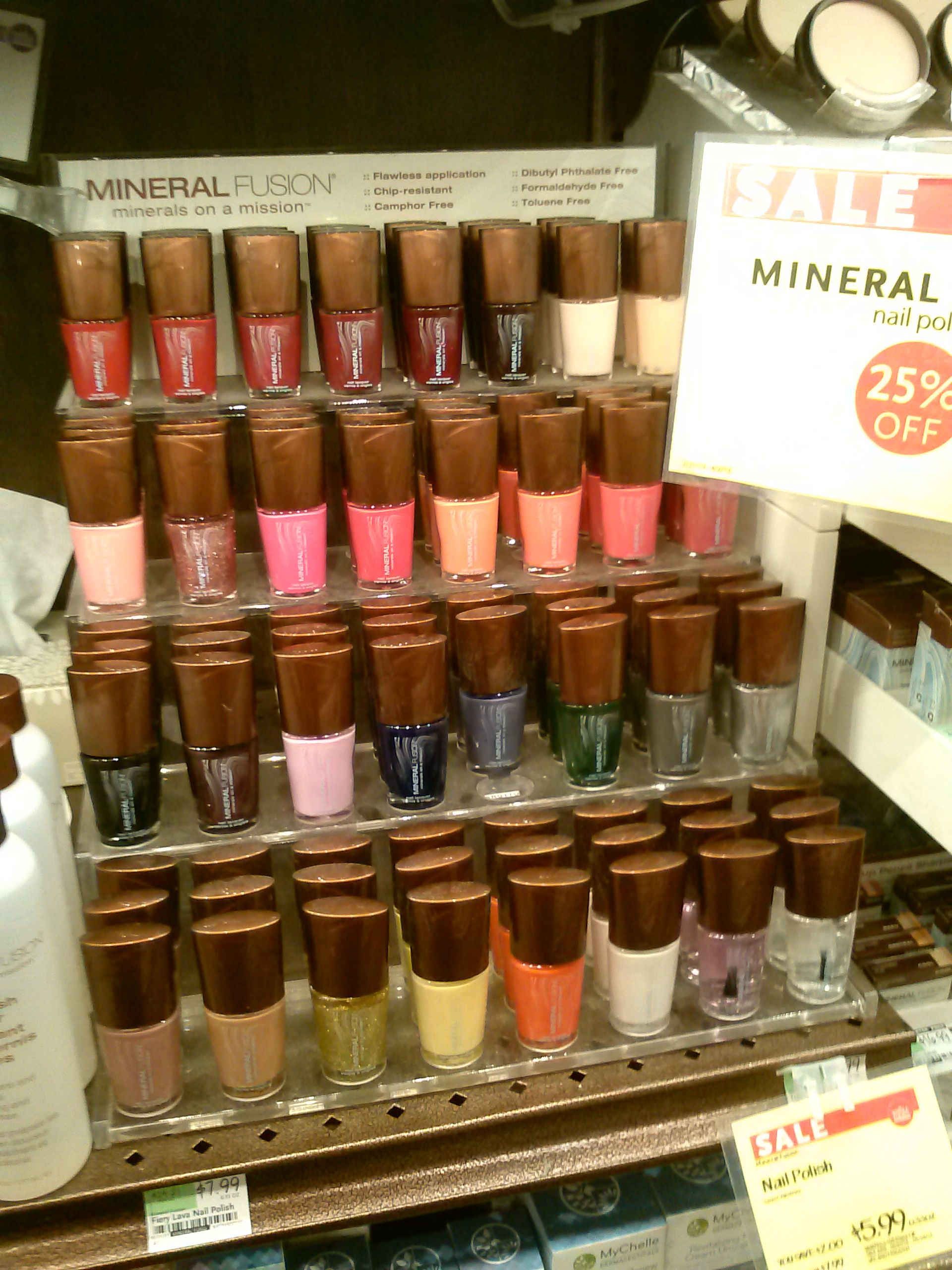 mineral fusion nail polish- you can buy it at Whole Foods! | Cruelty ...