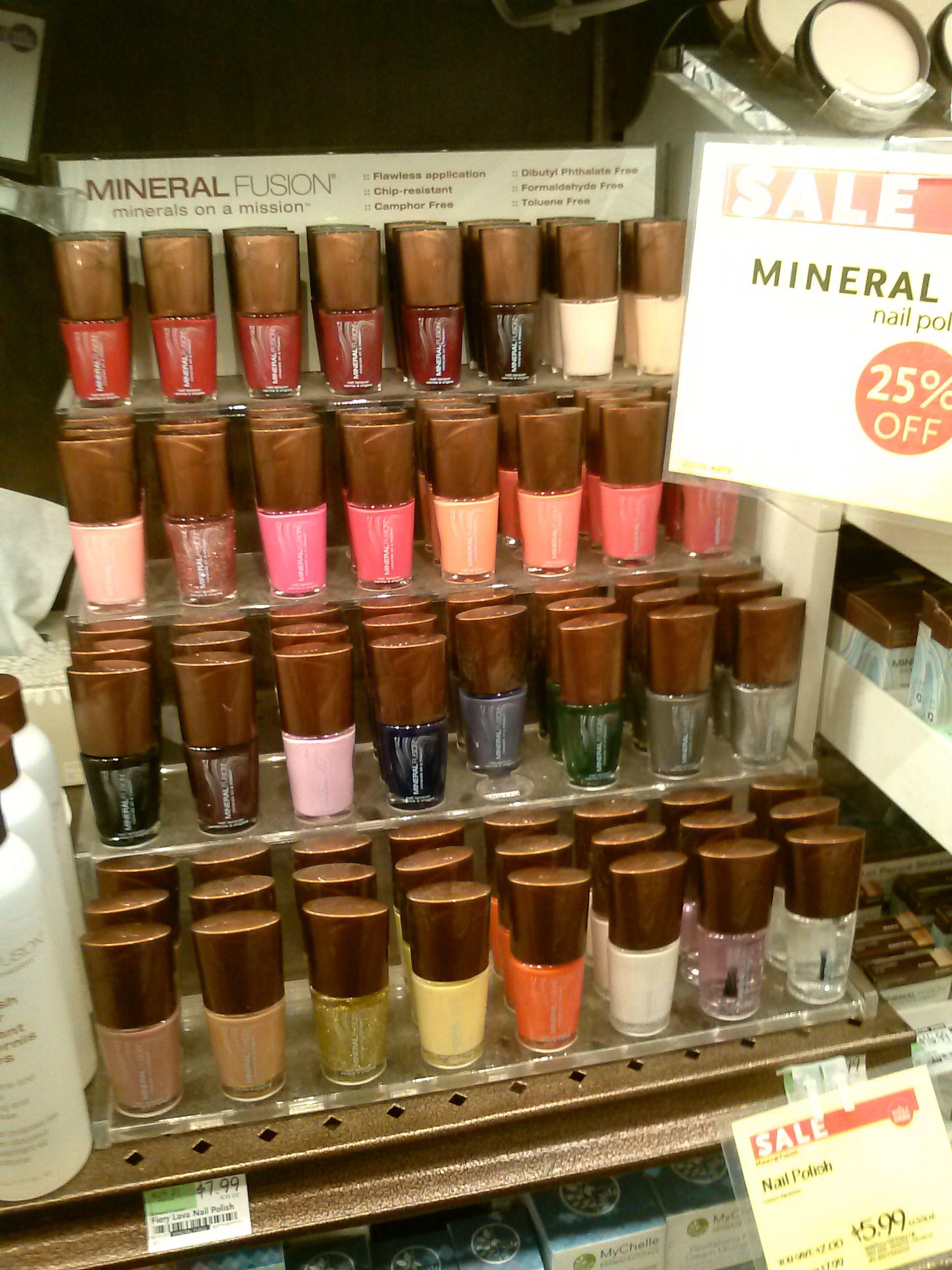 mineral fusion nail polish   non toxic nail polish   Pinterest ...