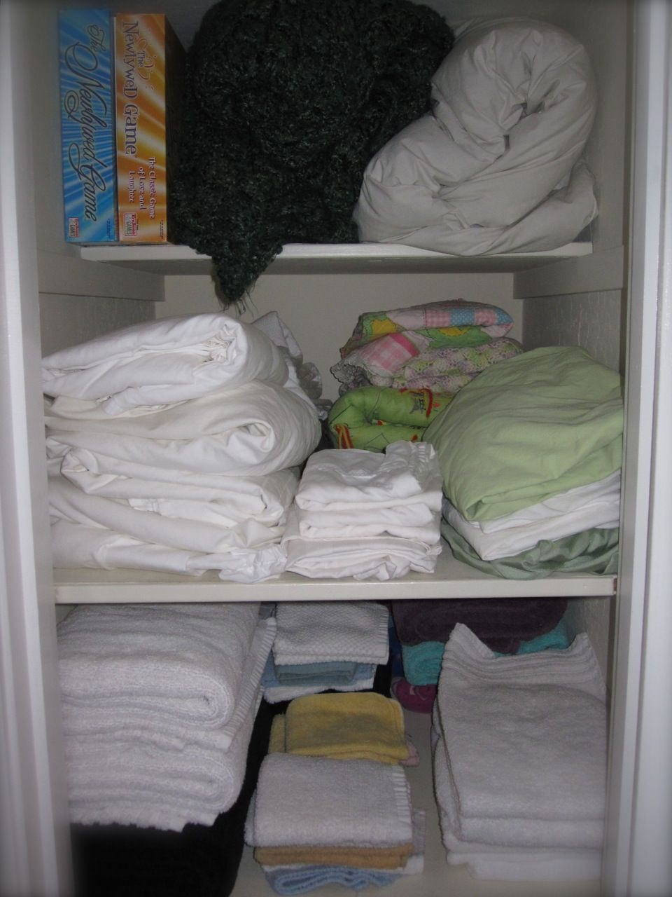 Tips For How To Organize Deep Shelves In The Pantry And Linen Closet