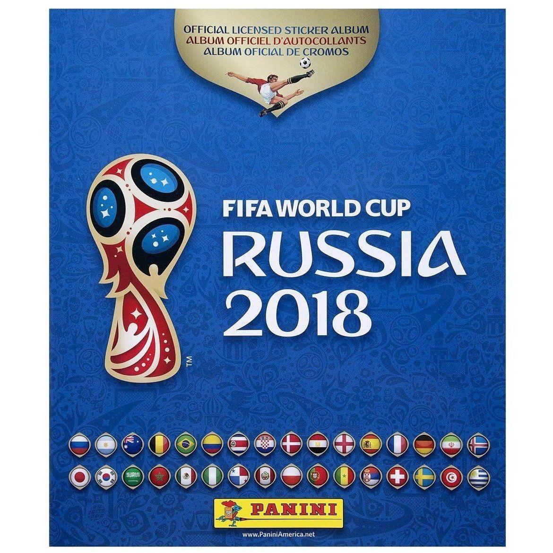 Panini 2018 Fifa World Cup Russia Sticker Collection Album World Cup Russia World Cup Sticker Album