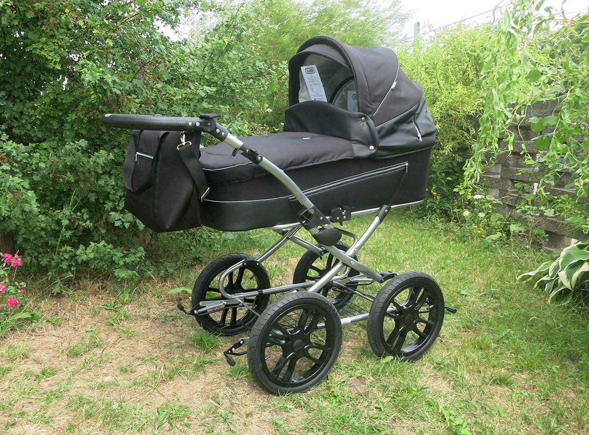 Günstiger Großer Kinderwagen Kinderwagen Kinder Wagen Kinderwagen Schwarz