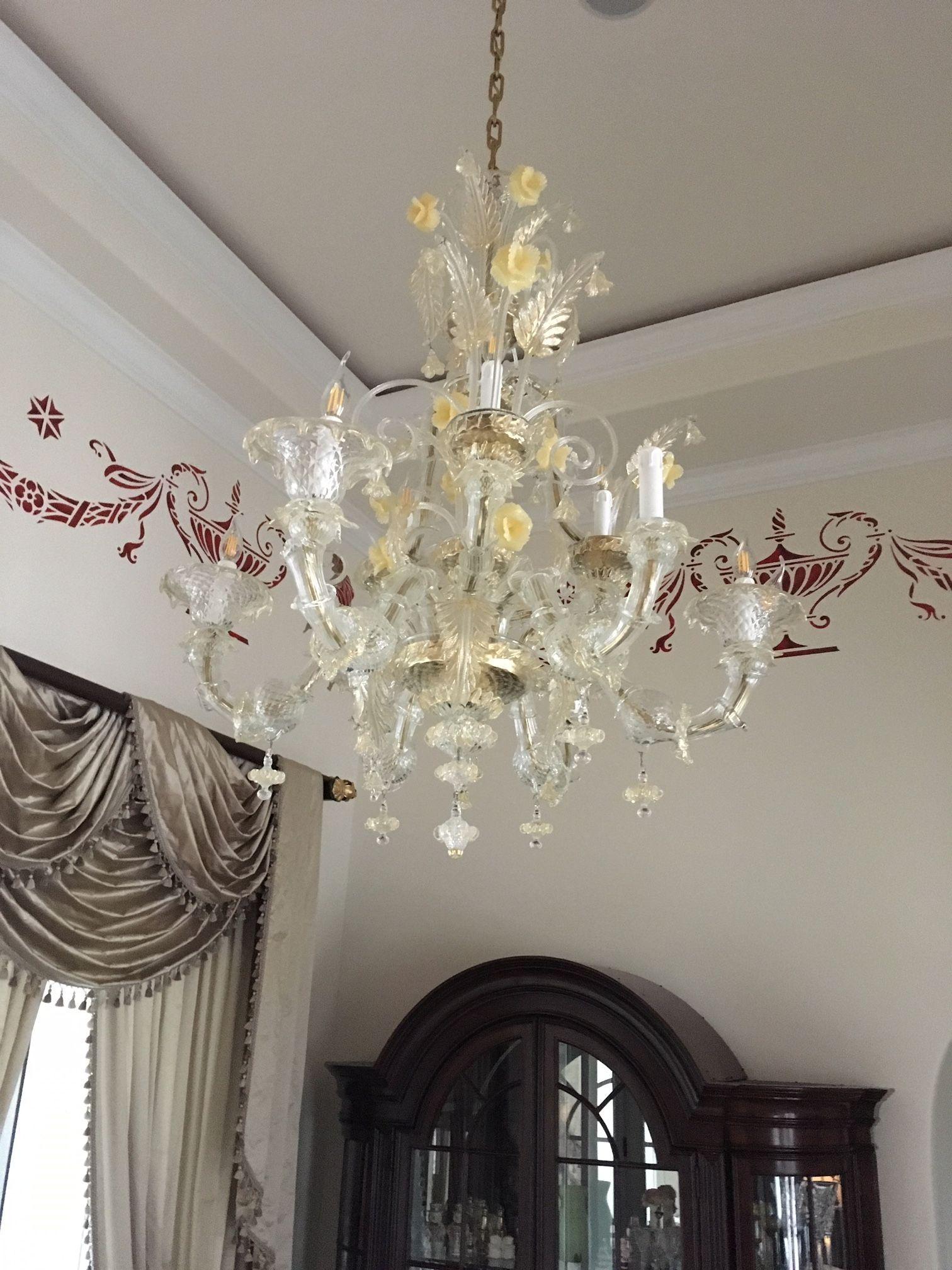 Lampadario Vetro Soffiato Murano.Lampadari Di Grandi Dimensioni Fabbrica Lampadari Murano E