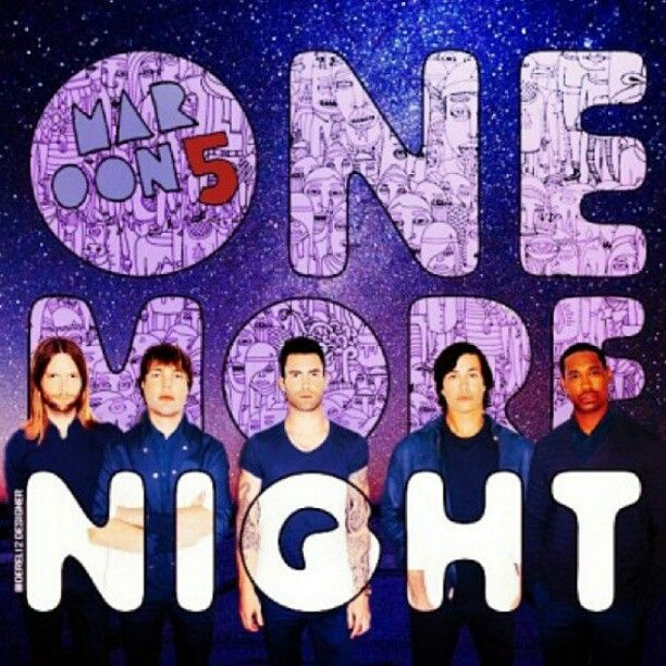 Padgram One More Night Maroon 5 Album Covers