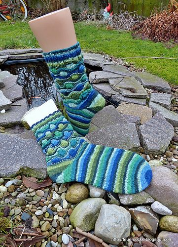 Ravelry: Bremen Muster pattern by Kristin Benecken | Socken stricken ...
