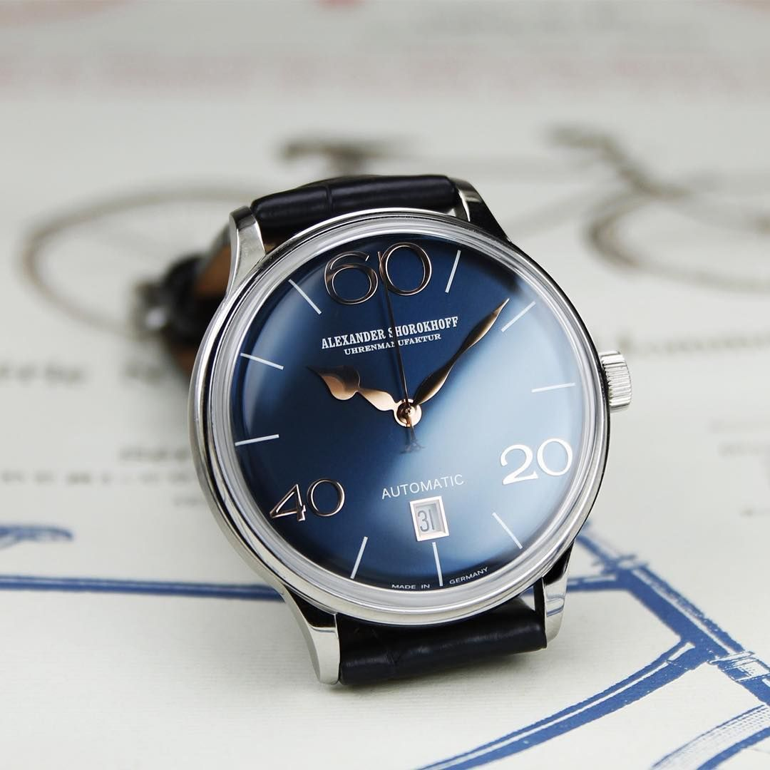 the fourth model of our sixties series - model 63 midnight blue. a