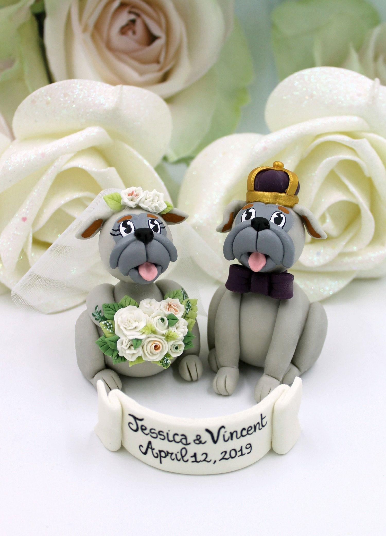 College Mascot Wedding Cake Topper Dog Cake Topper Wedding Etsy Wedding Cake Toppers Wedding Cake Topper Figurines Dog Cake Topper