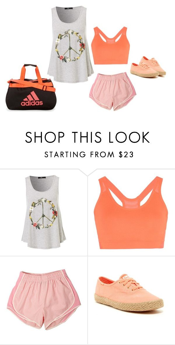 """""""Operation Motivation"""" by ashyrosepetal on Polyvore featuring adidas and Keds"""