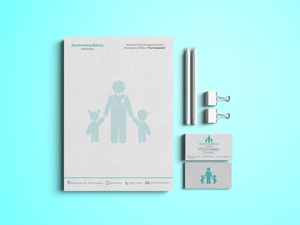 Pediatrician Business Card & A5 Block | Cards | Pinterest