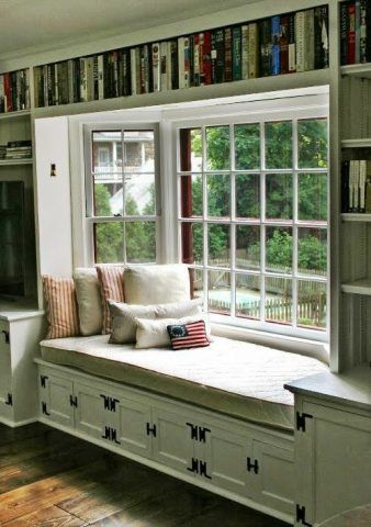 32 Cozy Nooks to Curl Up with a Book. Bay Window SeatsBay ...