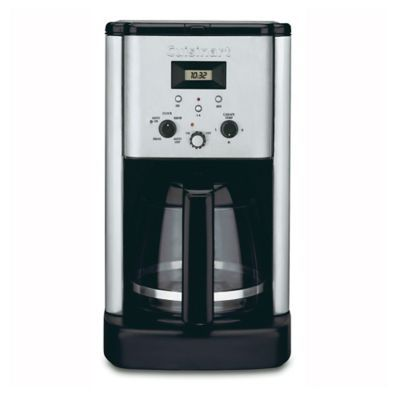 Cuisinart Brew Central 12 Cup Programmable Coffee Maker Stainless Steel Coffee Maker Cuisinart Coffee Maker Best Drip Coffee Maker