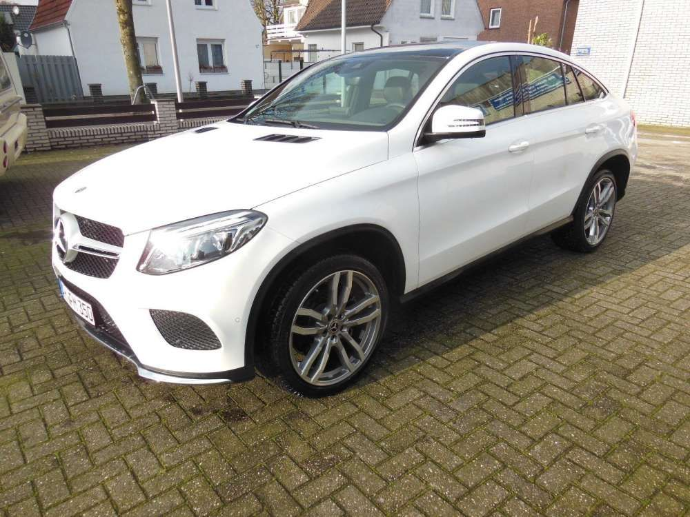2017 Mercedes Benz Coupe Gle 350 D 4matic Amg Suv Gle Class