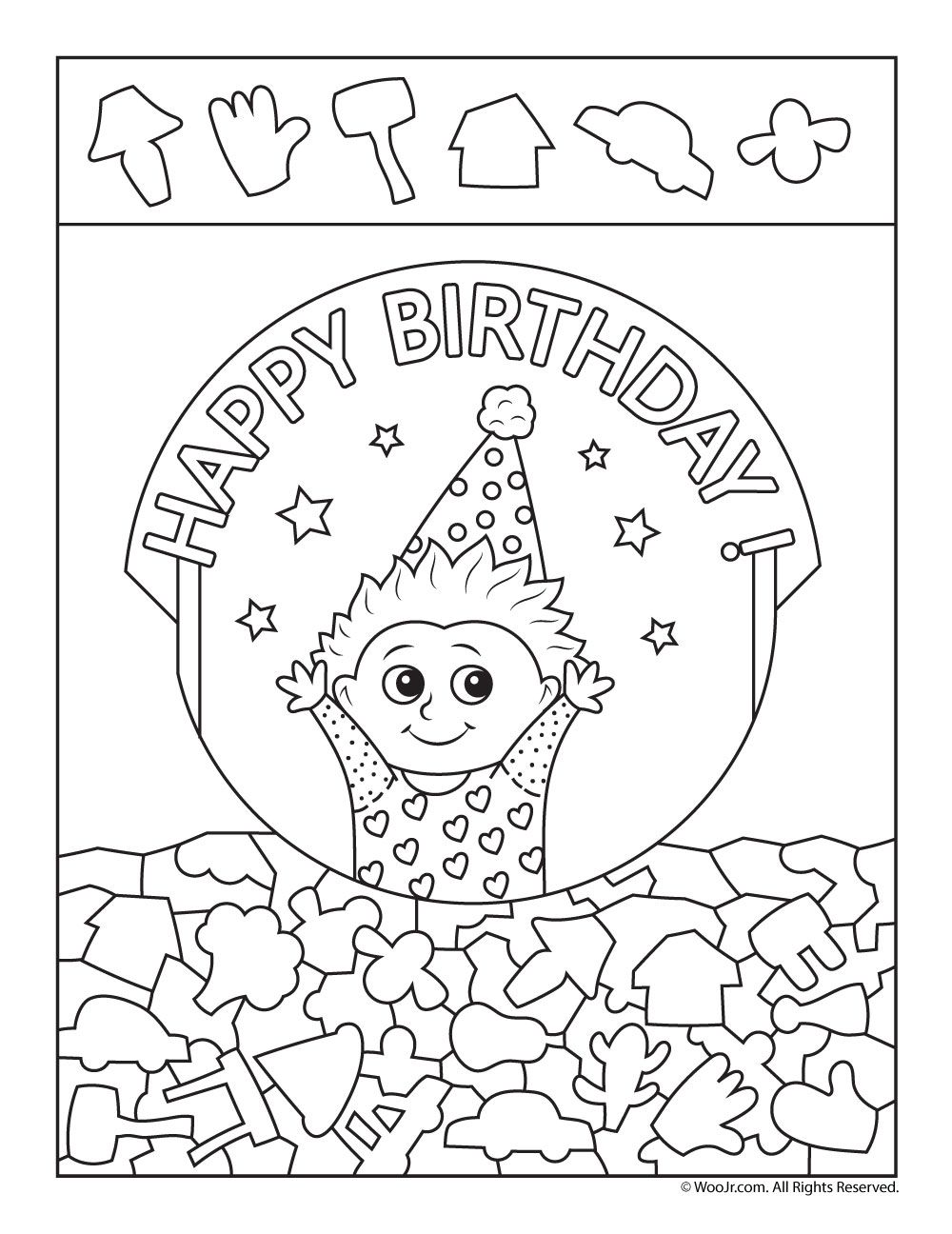 Birthday Hidden Pictures Activity Pages Woo Jr Kids Activities Hidden Pictures Hidden Pictures Printables Hidden Picture Puzzles [ 1296 x 1000 Pixel ]