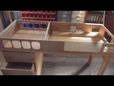 Custom Made Watercooled Desk Part 1 Built In Computer Desk Custom Pc Desk Custom Computer