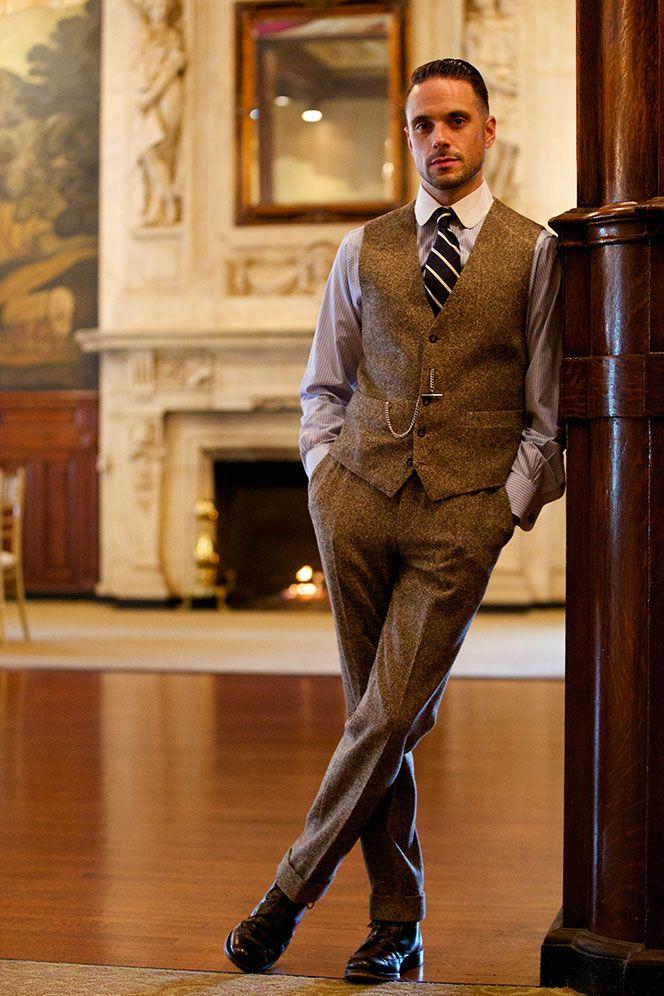 6 Ways to Wear a Brown Tweed Suit - He Spoke Style | Pattern ...