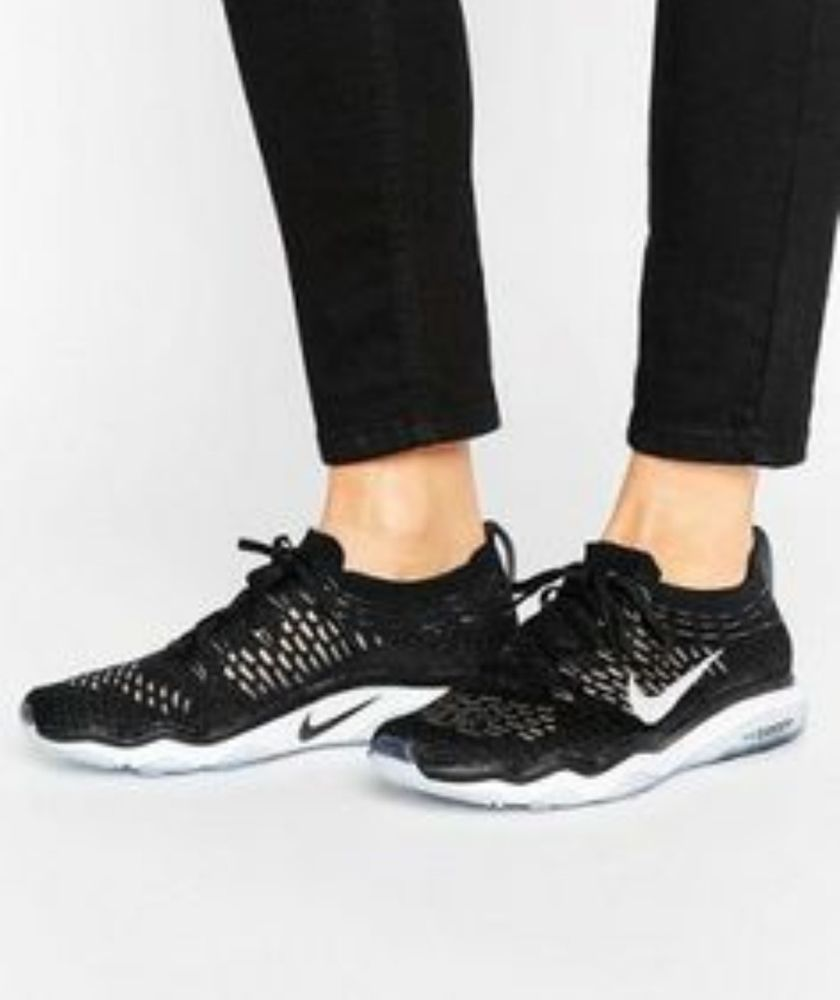464abdfdab2724 New Nike Zoom Fearless Flyknit Women s Training Shoes 850426-001 Black Size  10.5  Nike  RunningCrossTraining