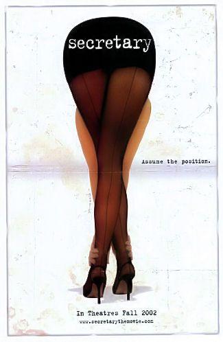 Secretary Movie Poster by Dawn Patrol