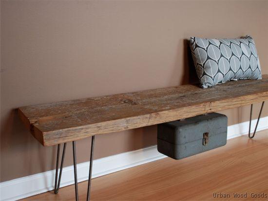 Elegant Urban Wood Goods :: Reclaimed Wood Furniture In New York And Boston