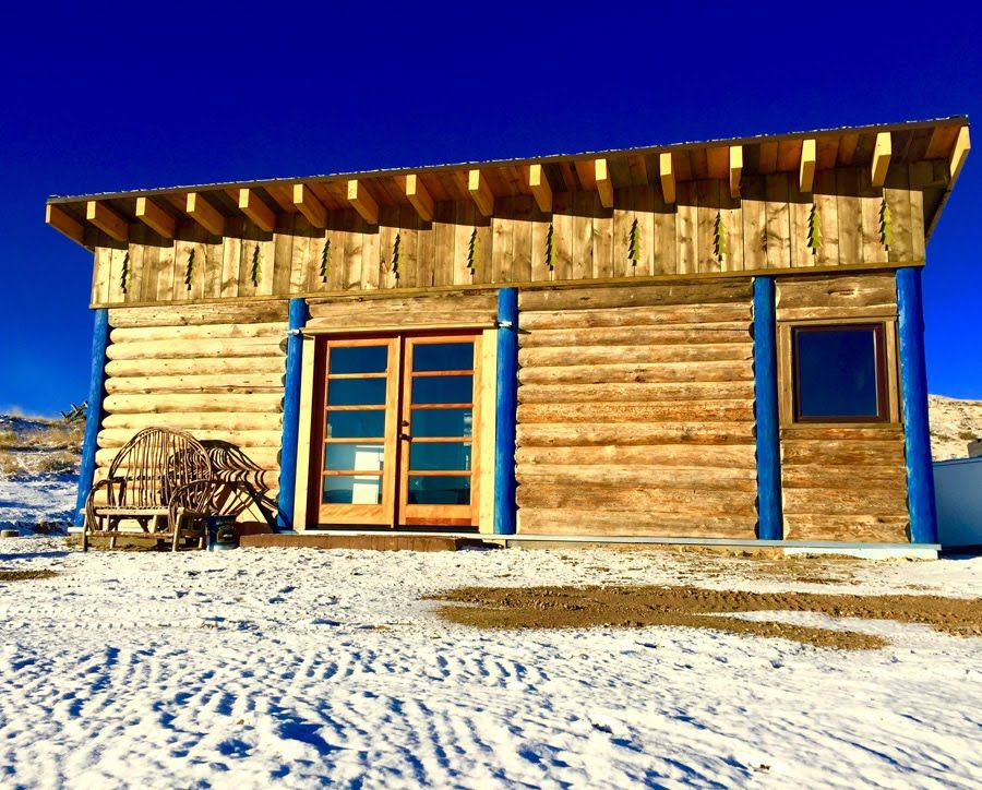 Noahs rustic wyoming cabin tiny house swoon tiny house