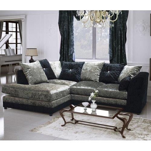 Detroit Corner Sofa Home Loft Concept With Images Corner Sofa Velvet Corner Sofa Luxury Sofa Modern
