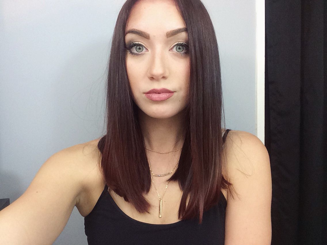 Trending Hairstyles Trending With Tori  Long Angled Bob  My Youtube Channel