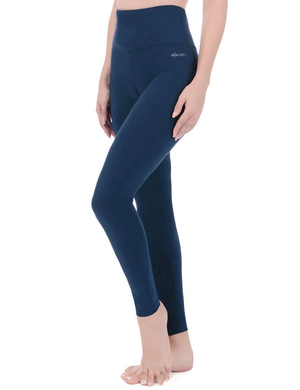 Women's Ankle Legging Stretch Tummy Control High Waisted Yoga Activewear Workout Pants Inner Pocket...