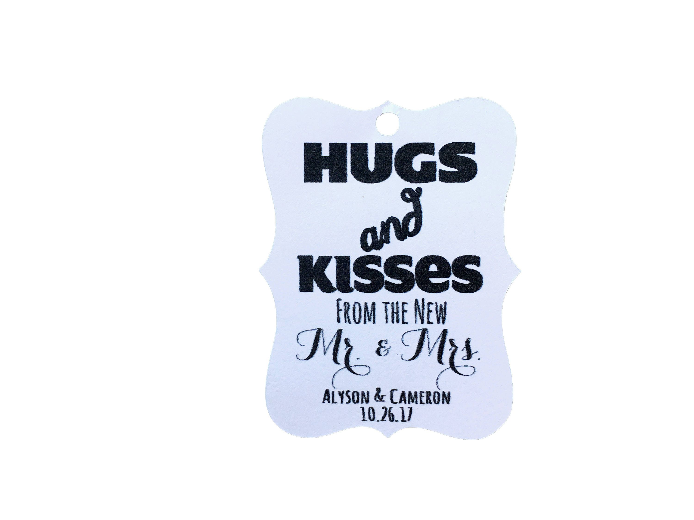Personalized Hershey Kisses Wedding Favors   Giftwedding.co