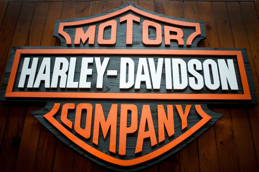 Harley Davidson 42 Quot Wood Sign Harley Davidson Harley