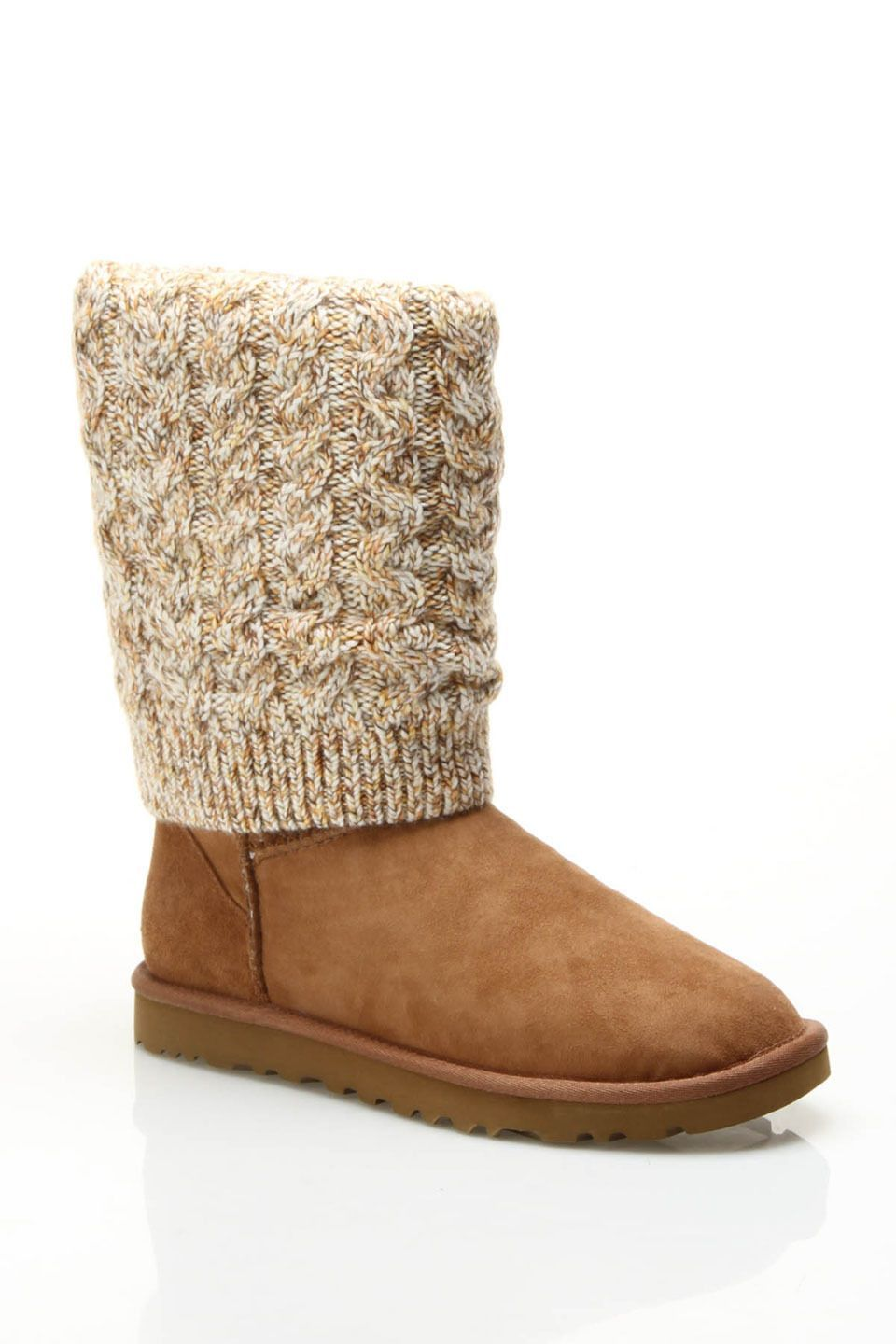 Ugg Ladies' Tularosa Route Boots In Chestnut Multicolor. #Uggboots