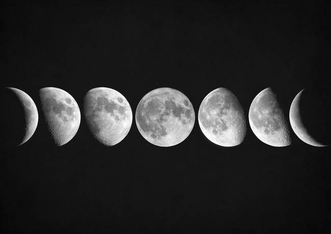 Moon Phases By Zapista Zapista Moon Phases Art Moon Phases Moon Phase Photography