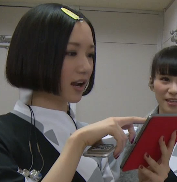Perfume           - securitylucy:   Nocchi checking the beef in the...