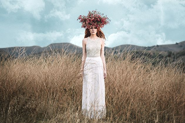 Brides: First Look at Mara Hoffman's New Devotional Wedding Dress Collection