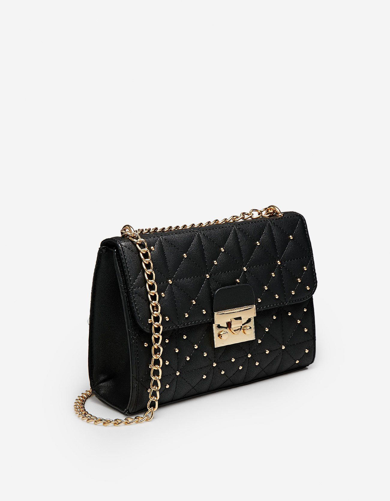 At Stradivarius You 39 Ll Find 1 Quilted Crossbody Bag With Studs For Just 15 99 France Visit Now To Discove Quilted Crossbody Bag Studded Bag Crossbody Bag