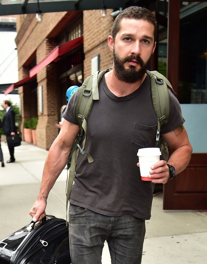 Shia LaBeouf had tooth removed for 'Fury' | Bags, Videos ...