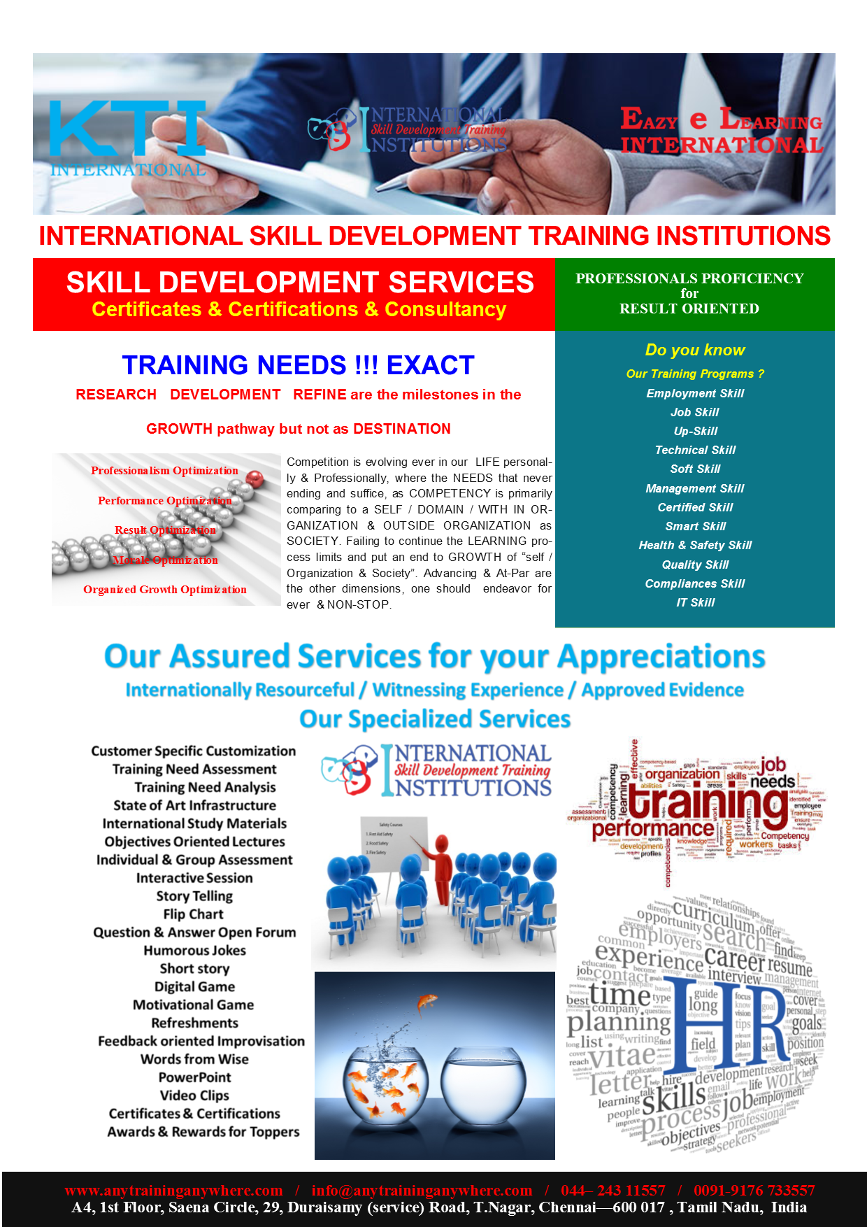International skill development training institutions chennai best we are management skills training program in india and best training institute in india also has skill based programs for corporate and for institutions 1betcityfo Gallery