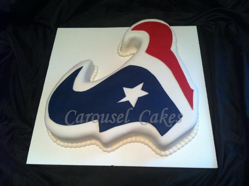 Texans Logo Cake Houston Texans Cake Texans Baby Shower Texans