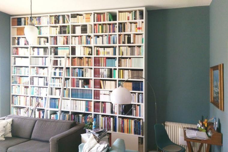 Große Bibliotheken für moderne Wohnzimmer Möbeldesign Pinterest