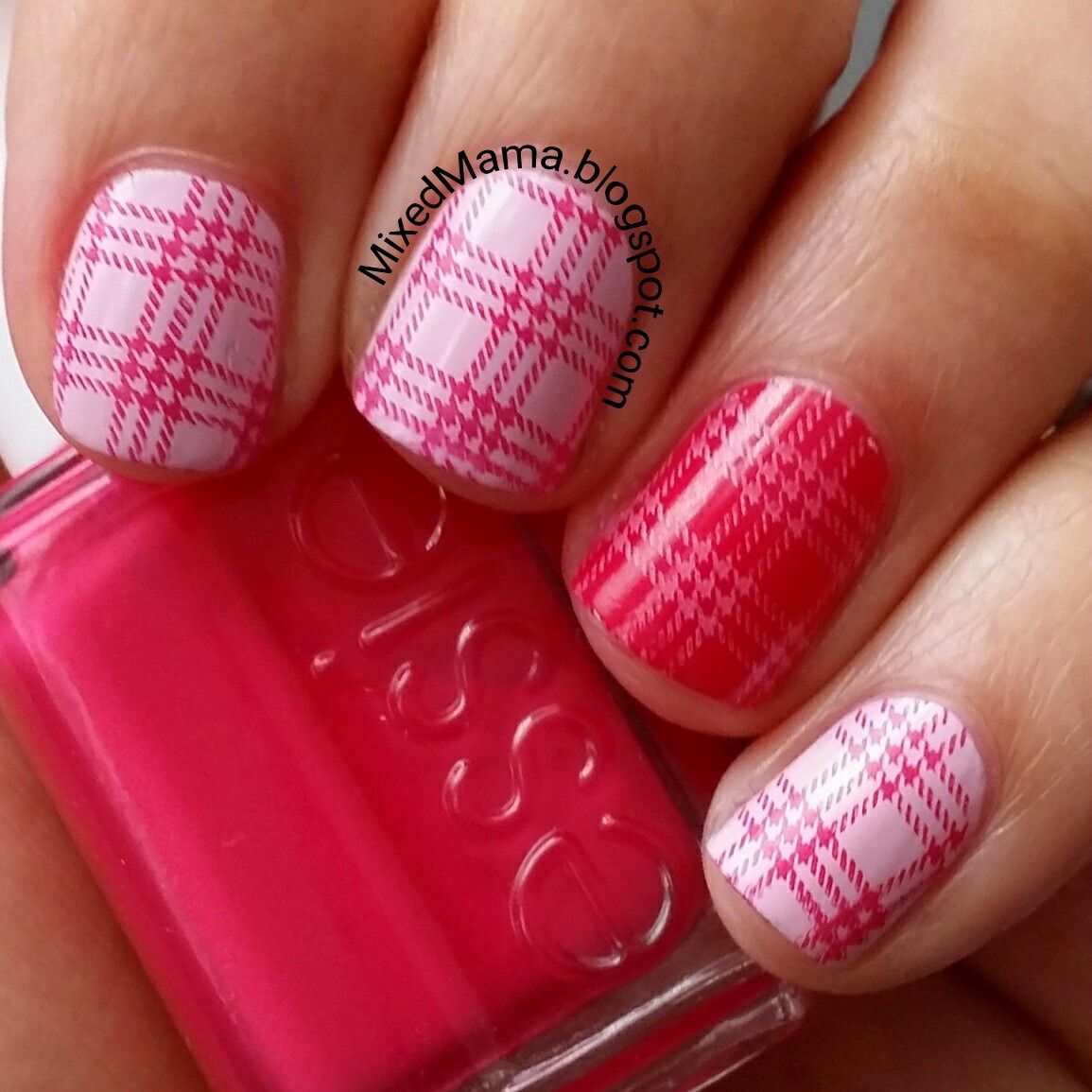 MixedMama: Born Pretty Store's Nail Stamping Plate BP-L006 Review